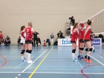 Dames VC Sneek doen reuzenstap richting kampioenspoule