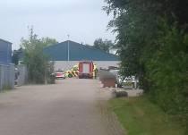 Gewonde bij brand scheepsbouwbedrijf in Heerenveen