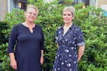 Casemanagers Marion Luikel en Dukke Posthuma van Meriant ondersteunen mensen met dementie