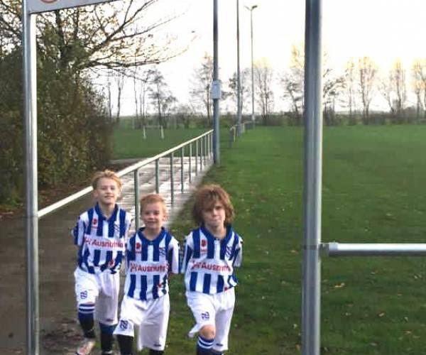 Talenten v.v. Oudega draaien warm bij SC Heerenveen