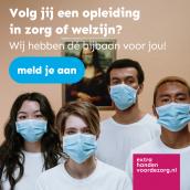 Friese zorgopleidingen zoeken 'Extra handen in de zorg'