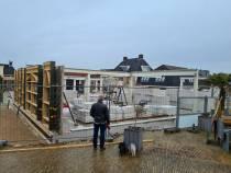 Bouw op Markt en het Bantegaplein in Lemmer vorderen gestaag