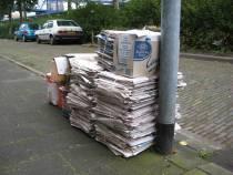 Súdwest-Fryslân bouwt subsidie oud papier af