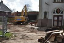 Sloopwerkzaamheden Kruiskerk aan de Burgemeester Falkenaweg