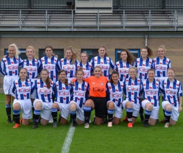 VV Heerenveen V2 zoekt speelsters