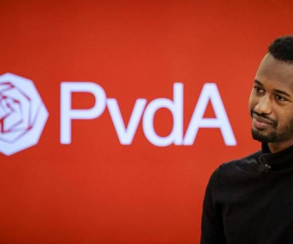 Habtamu de Hoop is blij met zijn tiende plek op de PvdA-kandidatenlijst