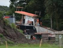 Wetterskip Fryslân vervangt gemaal Feansicht (Foto's)