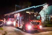 Kleine schoorsteenbrand in Balk