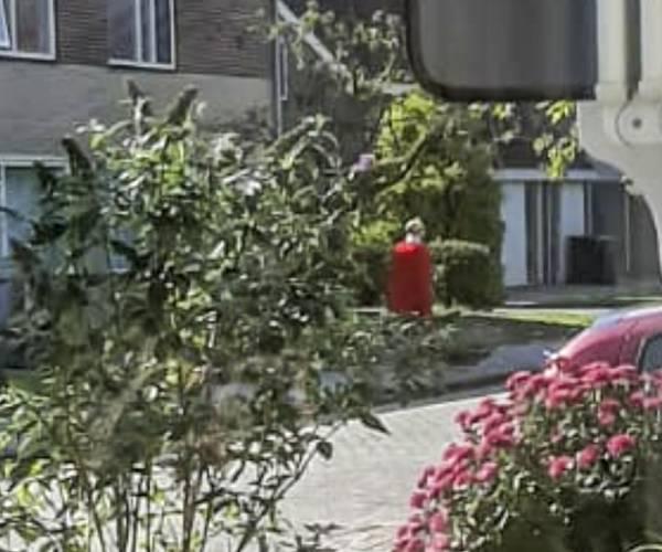 Politie zoekt identiteit man met rode cape en kroon in Joure