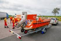 Ook Friese reddingsbrigades gaan helpen bij overstromingen in Zuid-Limburg
