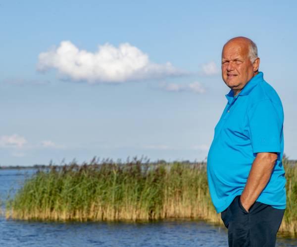 Wereldburger Albert van der Meer uit Harich is na veertig jaar terug in Fryslân