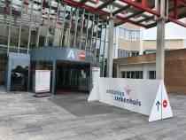 Nieuw asfalt Antonius Ziekenhuis Sneek