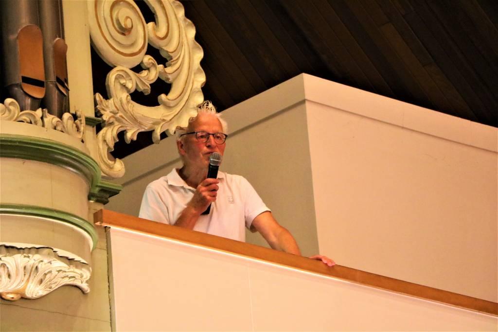 Folkert Binnema vertelt over het orgel