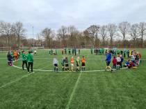 Meer dan 100 kinderen bij voetbaldagen SC Joure