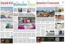 Verdwijnen de Jouster Courant, de Zuid Friesland en de Balkster Courant?