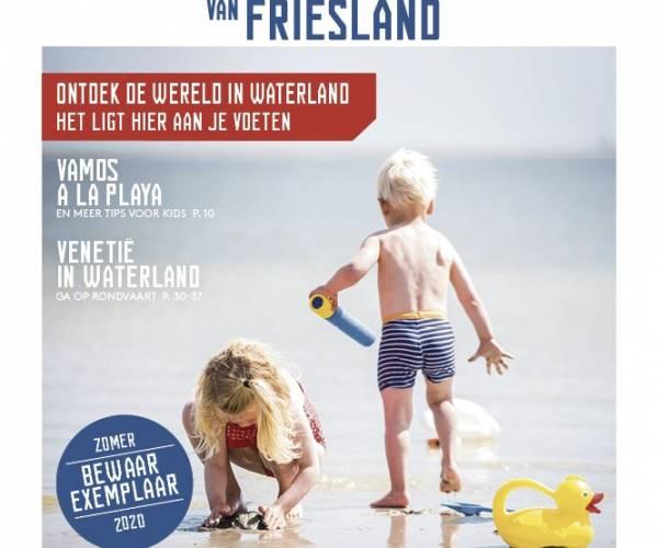 Inspiratiekrant van Waterland van Friesland verschenen
