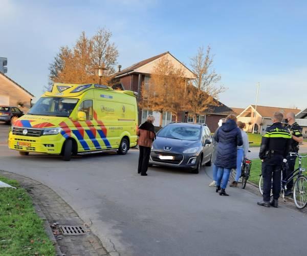 Fietser gewond bij aanrijding met auto op de Heidemeer