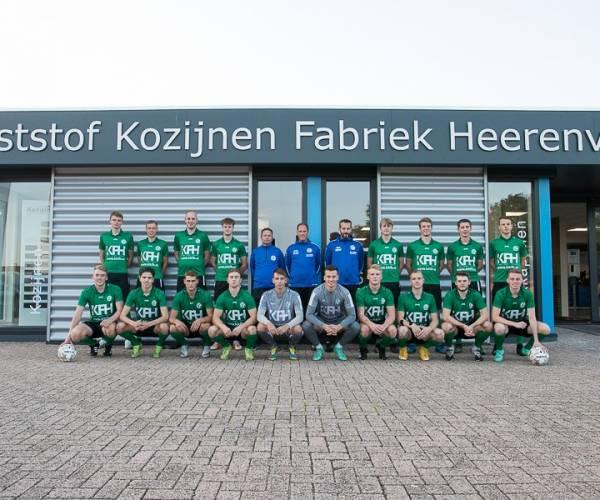 KKFH is de trotse hoofdsponsor van vv Heerenveense Boys