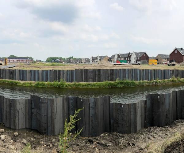 Bouwrijp maken van fase C van de wijk Harinxmaland in Sneek