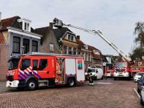 Schade woningbrand aan de Kleine Palen blijft beperkt