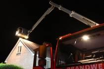 Brandweer rukt uit voor schoorsteenbrand aan de Koevorde
