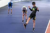 Inlineskate toppers rijden eerste wedstrijden in Heerenveen